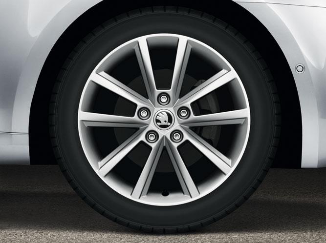obręcz ko�a ze stop243w lekkich 17quot teron akcesoria Škoda