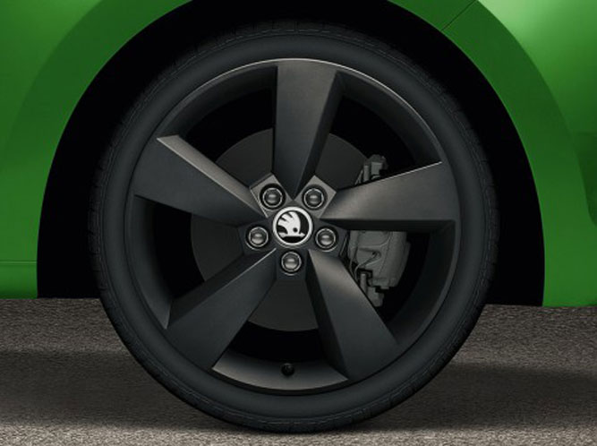 """Prestige Auto Group >> Obręcz koła ze stopów lekkich 17"""" PRESTIGE czarny mat ..."""